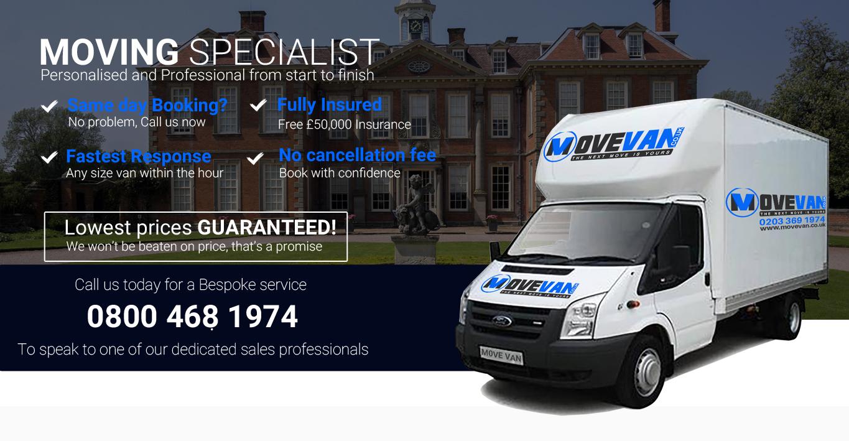 6c4d6760d4 Man Van Removals Service London