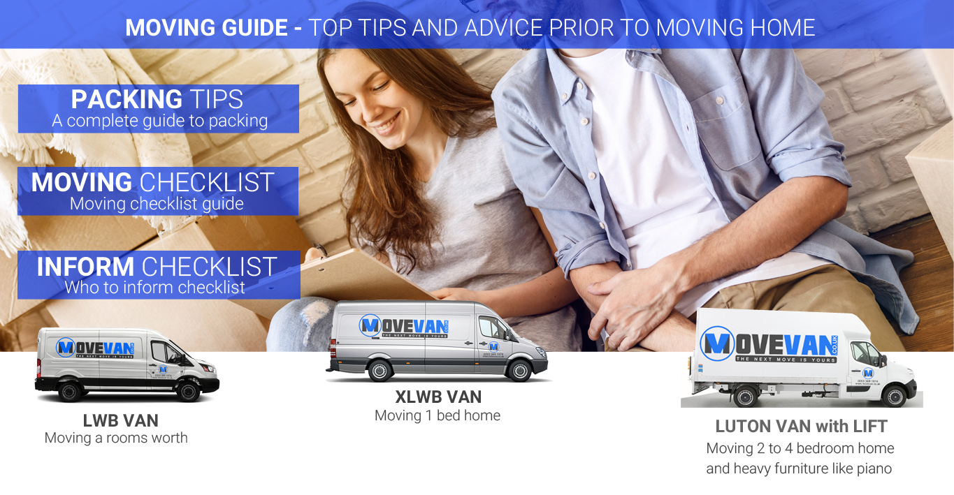 MOVING GUIDE - TOP TIPS AND ADVICE